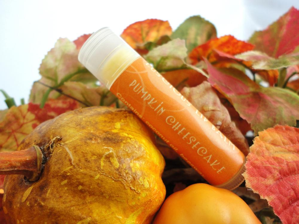 Pumpkin Cheesecake Luscious Lip Balm - Limited Edition